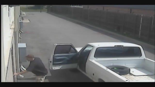 WEB EXTRA: Video Of Suspect In SW OKC Business Burglary