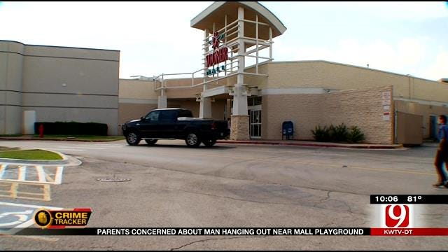 Parents Concerned About Man Hanging Out Near Mall Playground In Norman