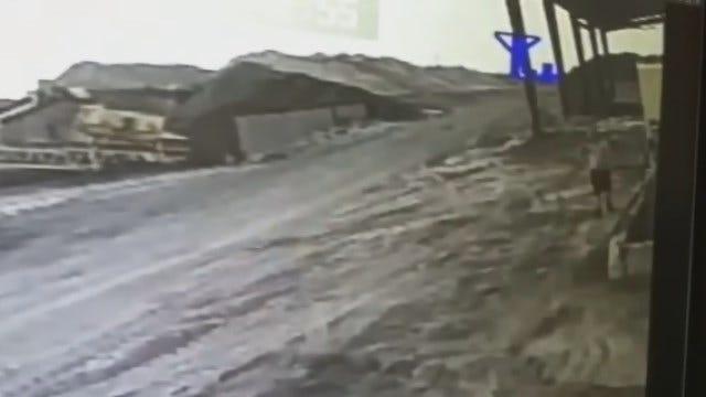 Police Release Video Of Suspect In SW OKC Business Burglary