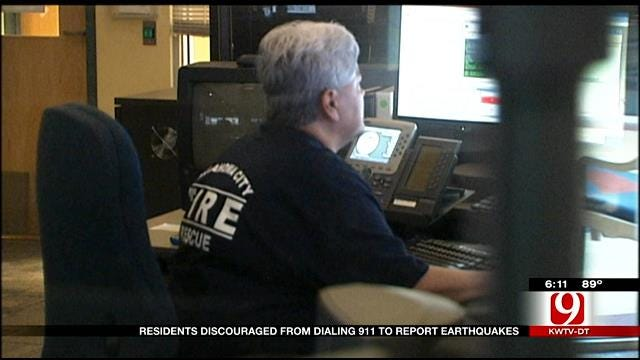 Residents Discouraged From Dialing 911 To Report Earthquakes