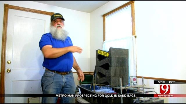 Oklahoma Man Digging For Gold From Home