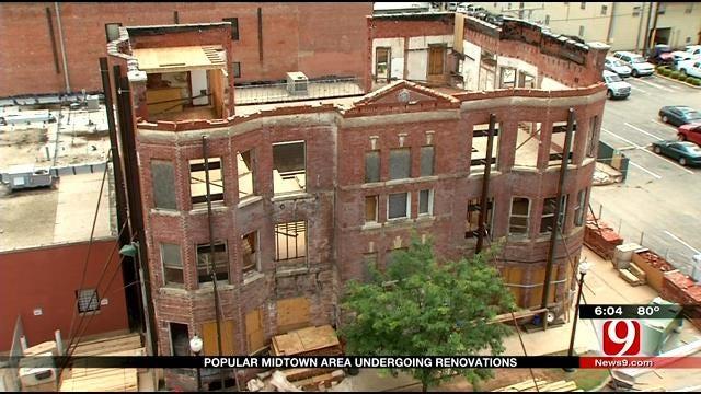 Popular Midtown Area Undergoing Renovations