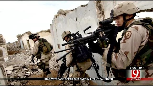 Iraq Veterans Speak Out Over Militant Takeover