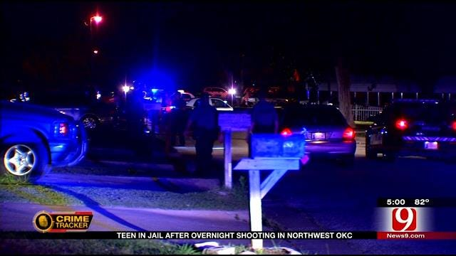 Teen In Jail After Overnight Shooting In NW OKC