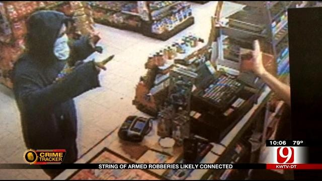 String Of Armed Robberies In Shawnee Likely Connected