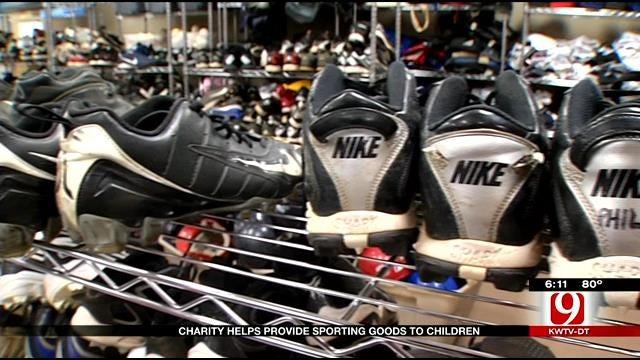 Oklahoma Charities Help To Provide Sporting Goods To Children