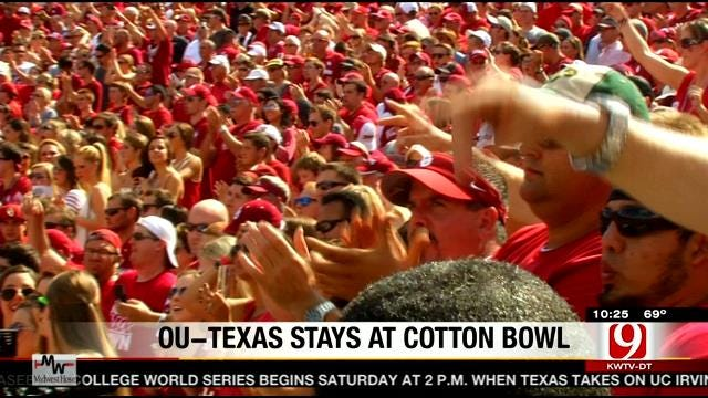 Red River Showdown Staying At Cotton Bowl