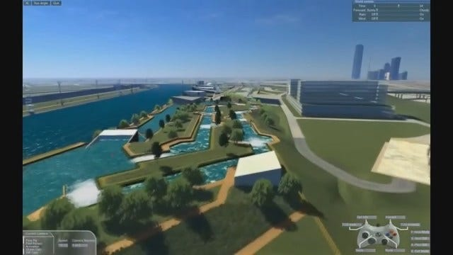 WEB EXTRA: Animation of MAPS 3 Planned Whitewater Center