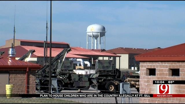 Controversial Plan To House Children Who Are In The Country Illegally At Fort Sill