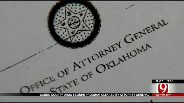 Caddo County Drug Seizure Program Cleared By Attorney General