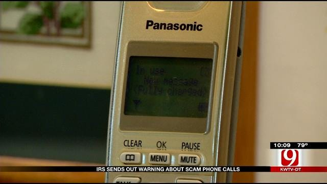IRS Sends Out Warning About Scam Phone Calls In Oklahoma