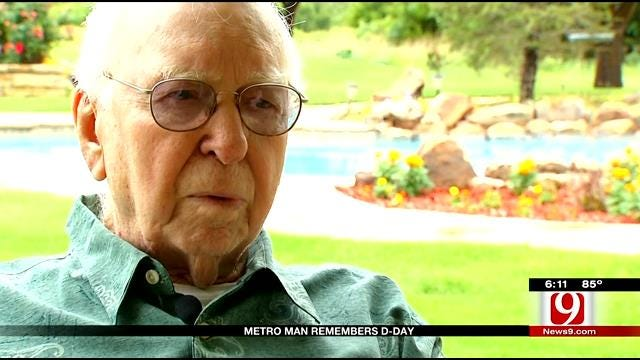Metro Man Remembers D-Day