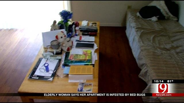 Elderly Woman Says Her Apartment Is Infested With Bed Bugs