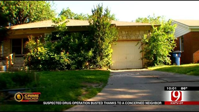 Suspected Drug Operation Busted Thanks To Concerned Neighbor