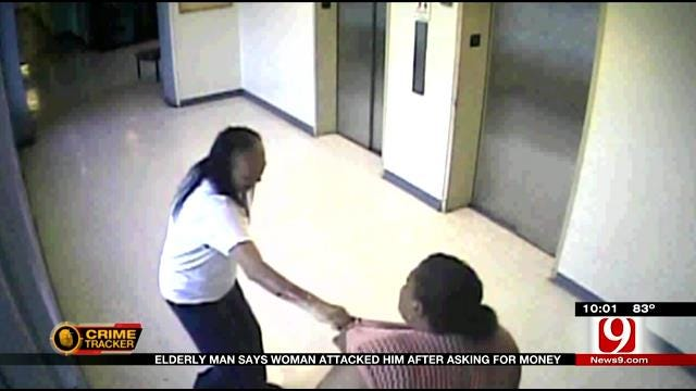 Metro Elderly Man Says Woman Attacked Him After Asking For Money