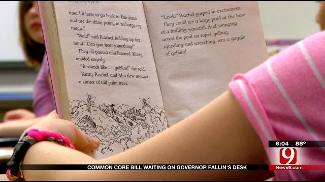 Common Core Bill Waiting On Governor Mary Fallin's Desk