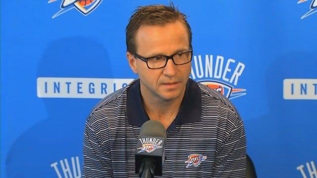 Thunder Coach Scott Brooks Talks About The Season