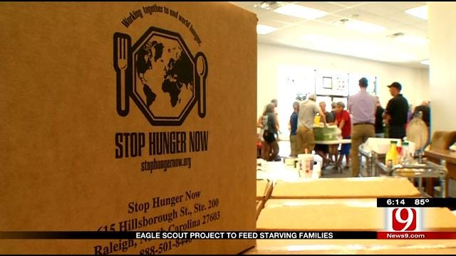 Eagle Scout Project To Feed Starving Families