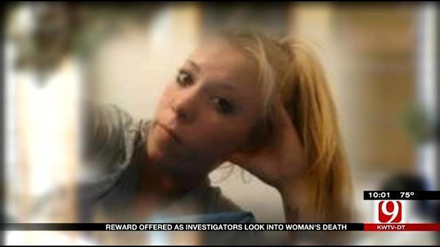 Reward Offered As Investigators Look Into McClain County Woman's Death