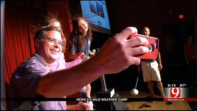 News 9 Weather Team Hosts July Wild Weather Camp