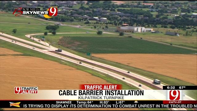 Workers To Install Cable Barriers On Parts Of Kilpatrick Turnpike