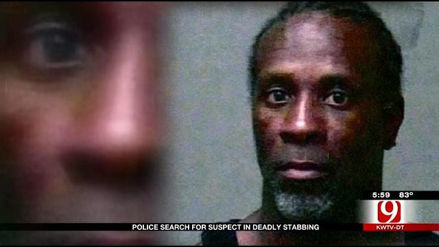 Police Search For Suspect In Deadly Midwest City Stabbing