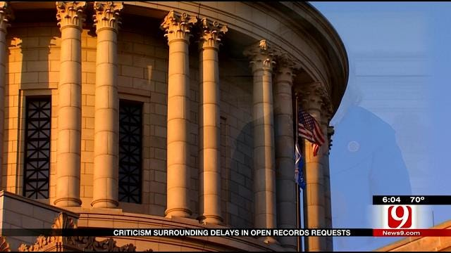 Governor Fallin's Open Records Policy Creates Transparency Concern