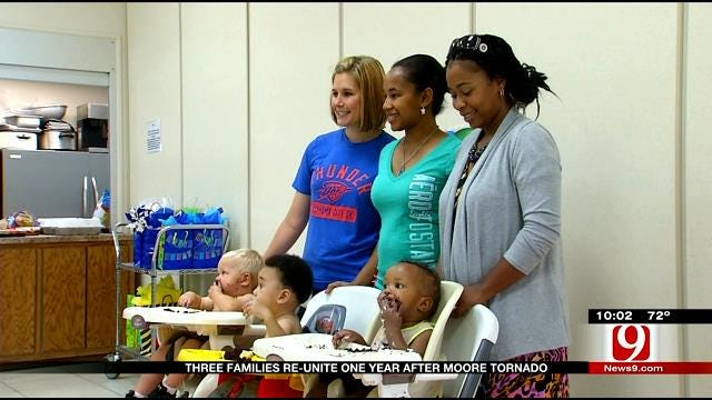 Three Families Reunite One Year After Moore Tornado