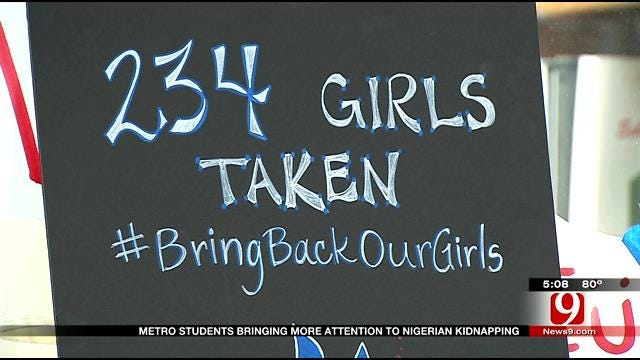Bishop McGuinness Students Raise Awareness, Money For Kidnapped Nigerians