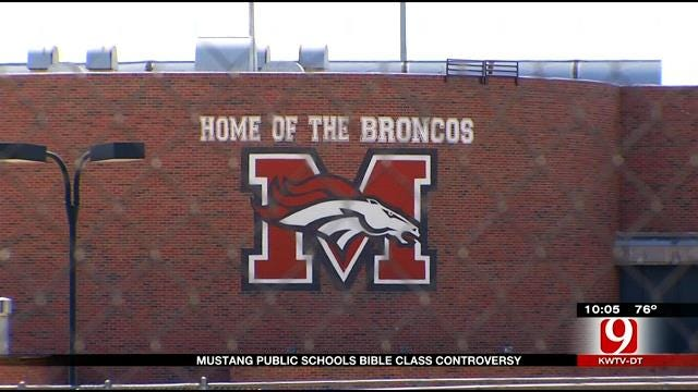 Controversy Surrounds Mustang Public Schools Bible Class Elective