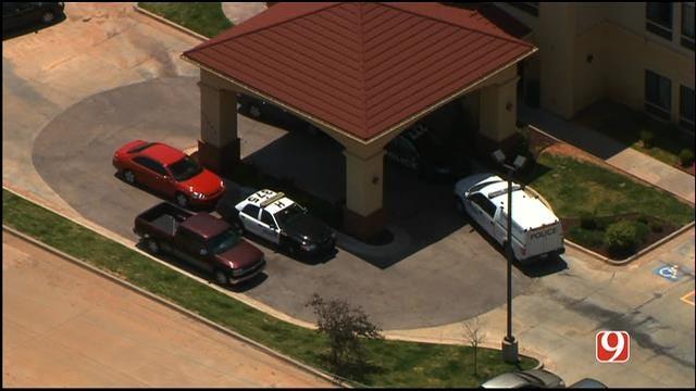 WEB EXTRA: Bob Mills SkyNews 9 HD Flies Over Scene Of OKC Homicide