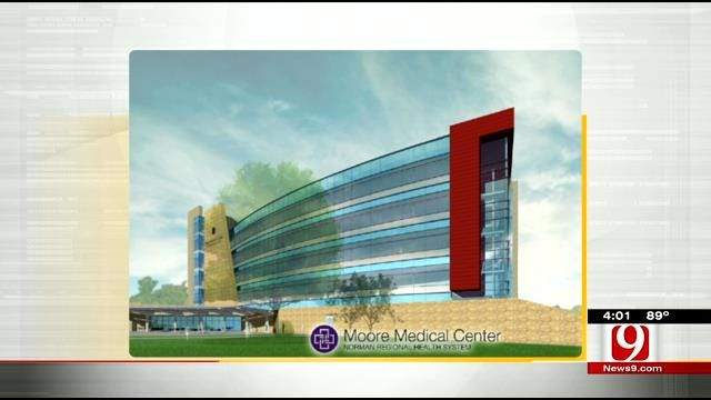 Rebuilding Continues For Moore Medical Center