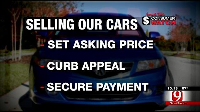 Consumer Watch: How To Sell Our Car