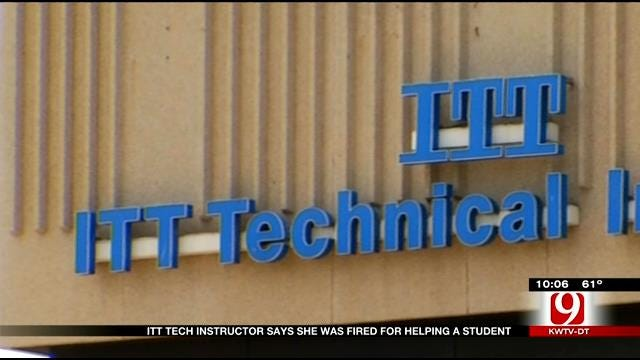 ITT Tech Instructor Says She Was Fired For Helping A Student