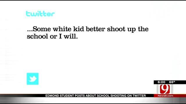 Social Media Watchdog Group Alerts Edmond School Of Student Threats