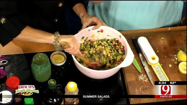 Quinoa And Corn Summer Salad