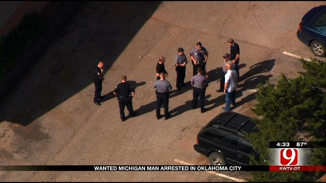 Wanted Michigan Man Arrested In OKC