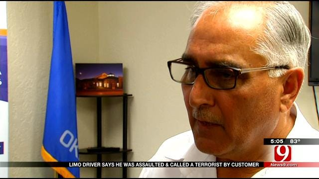 OKC Limo Driver Says He Was Assaulted, Called Terrorist By Customer