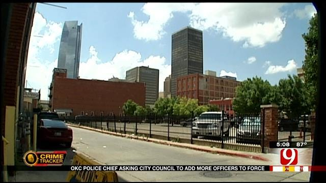 OKC Police Chief Asking City Council To Add More Officers