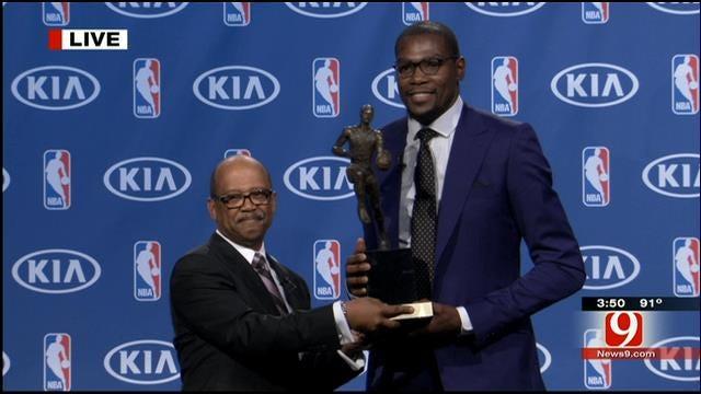 WEB EXTRA: Entire Kevin Durant MVP Award Presentation