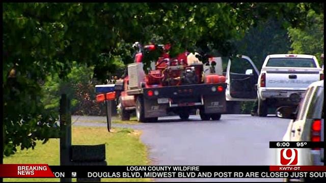 Logan County Wildfire Forces Residents From Homes