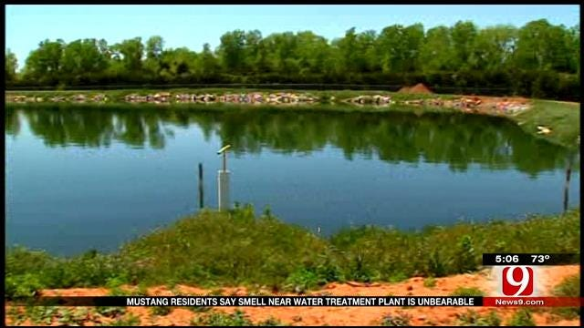 Mustang Residents Say Smell Near Water Treatment Plant Is Unbearable