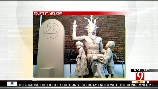 Satanic Temple Reveals First Look At Monument
