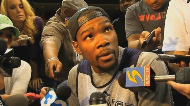 """KD And Westbrook Respond To """"Mr. Unreliable"""" Headline"""