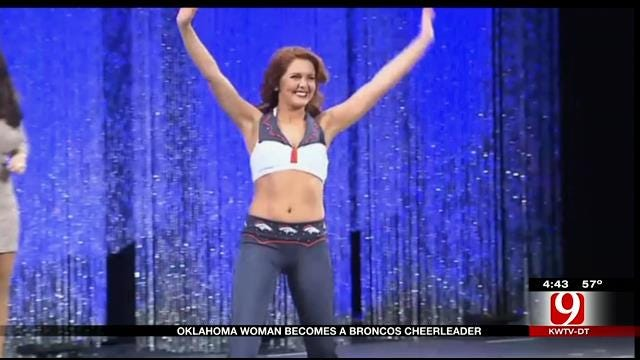 Oklahoma Woman Becomes Denver Broncos Cheerleader