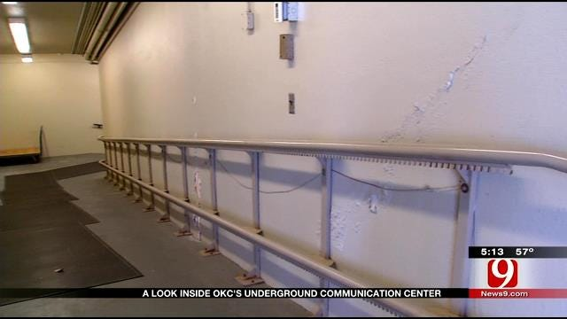 VIDEO: News 9 Tours OKC Bunker Command Center