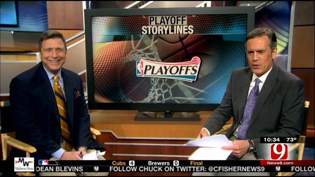 Dean And John Discuss NBA Playoffs