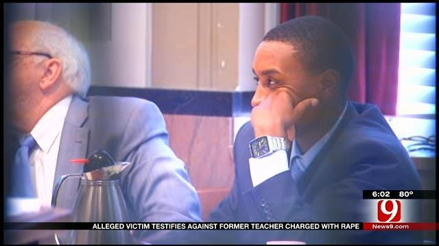 Alleged Victim Testifies Against Former Teacher Charged With Rape