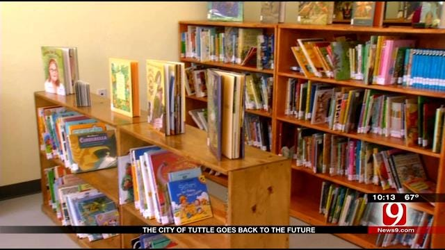 Volunteers Help Tuttle Open First Library In 50 Years