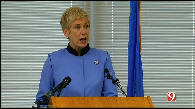 Supt. Barresi Holds News Conference About Testing Disruption